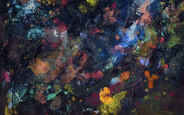 Painterly Abstraction | 30 Gorgeous Wallpapers for Your Desktop
