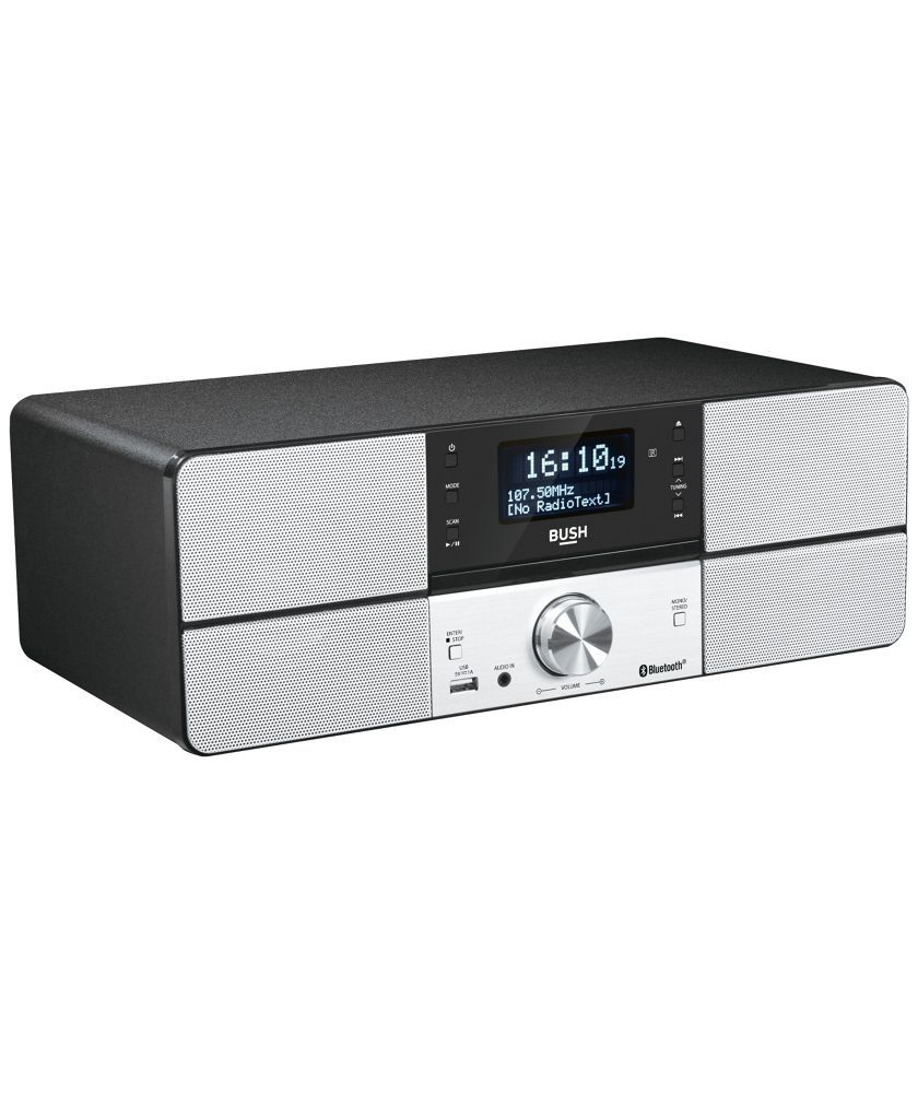 Bush Dab All-in-one Bluetooth Micro Hi-fi System Other Performance & Dj Performance & Dj Equipment