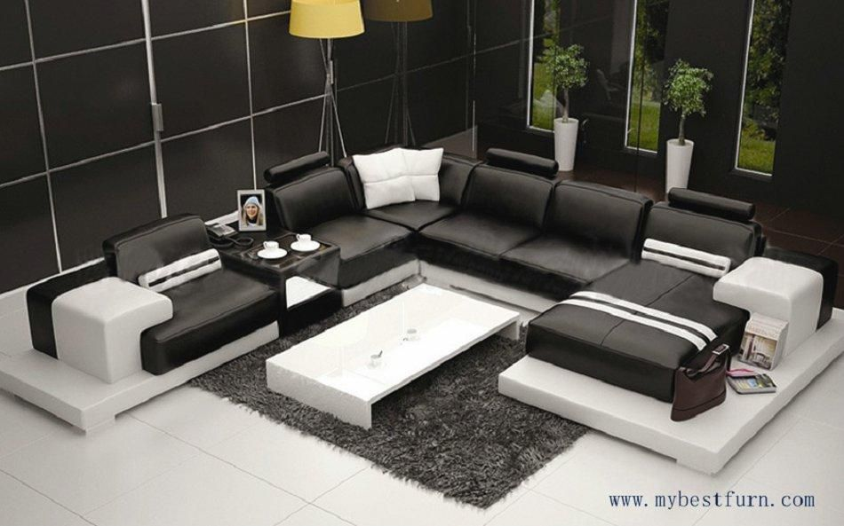Multiple Combination Elegant Modern Sofa Large Size Luxury