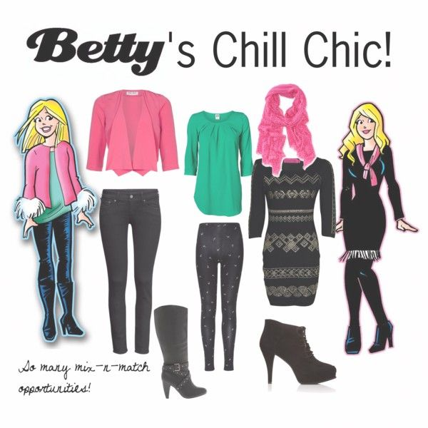 Betty S Chill Chic By Fashionofarchiecomics On Polyvore Cartoon Outfits Riverdale Fashion Outfit Inspirations