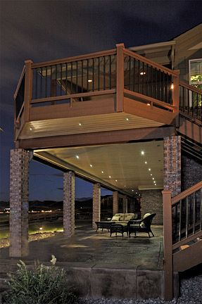Outdoor Led Recessed Lights Dekor Lighting Patio Under Decks