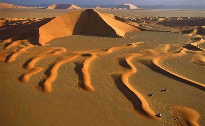 Desierto De Rub Al Jali Parques Nacionales Arabia Saudita