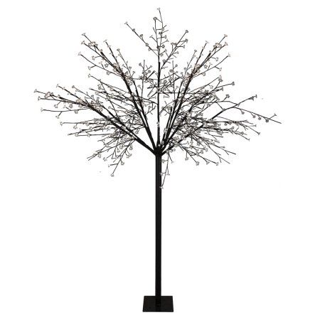 8\u0027 Multi-Function LED Lighted Cherry Blossom Flower Tree - Pure