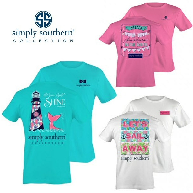 75aa2e93c3 SimplySouthern t-shirts are in high demand!  WalkOnWaterBoutiques ...