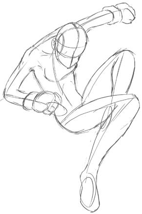Drawing Anime Manga Action Poses Tutorial Part 2 How To Draw Step By Step Drawing Tutorials Anime Poses Action Poses Poses