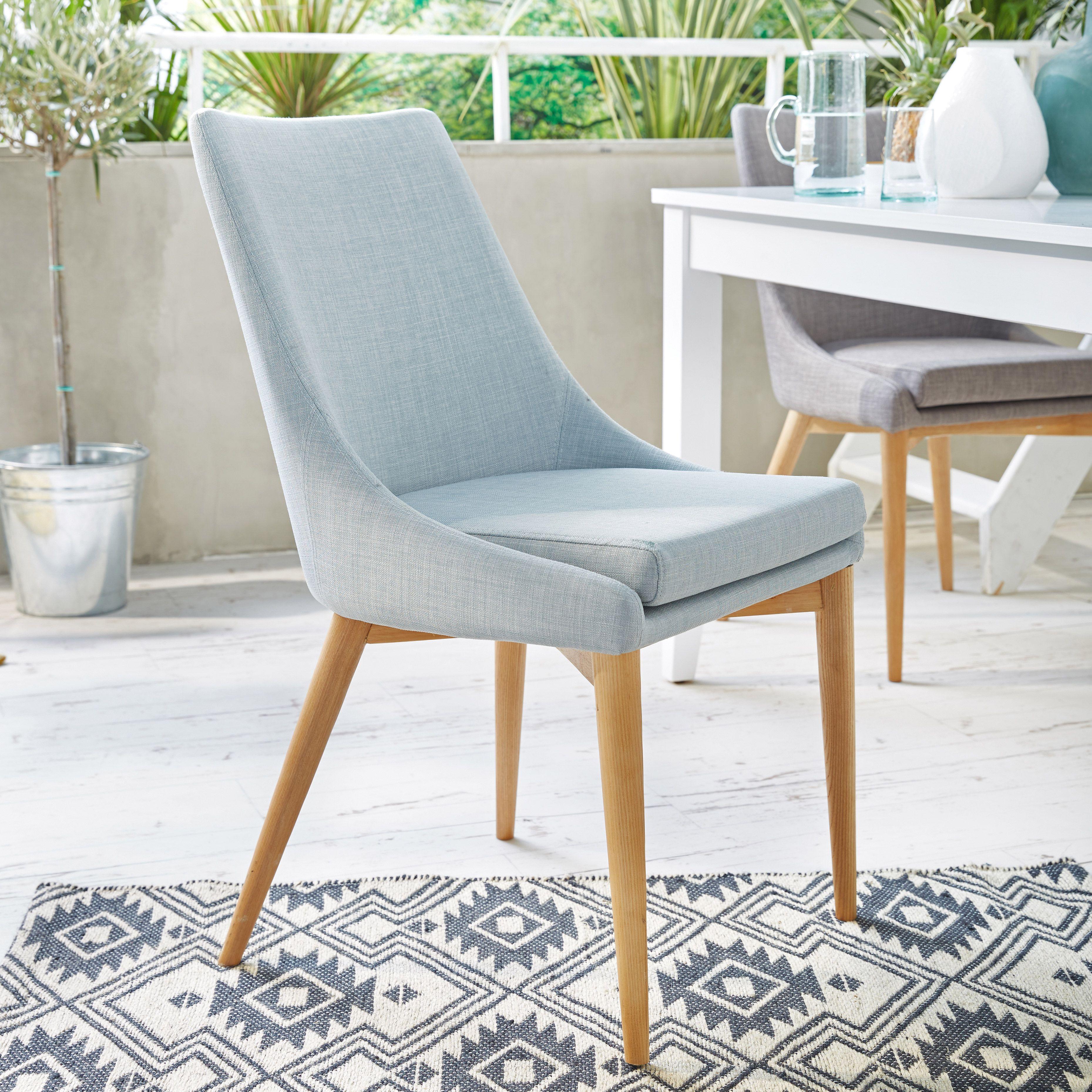 Chaises Alinea Salle A Manger abby | chaise en hévéa et frêne gris clair - décoration