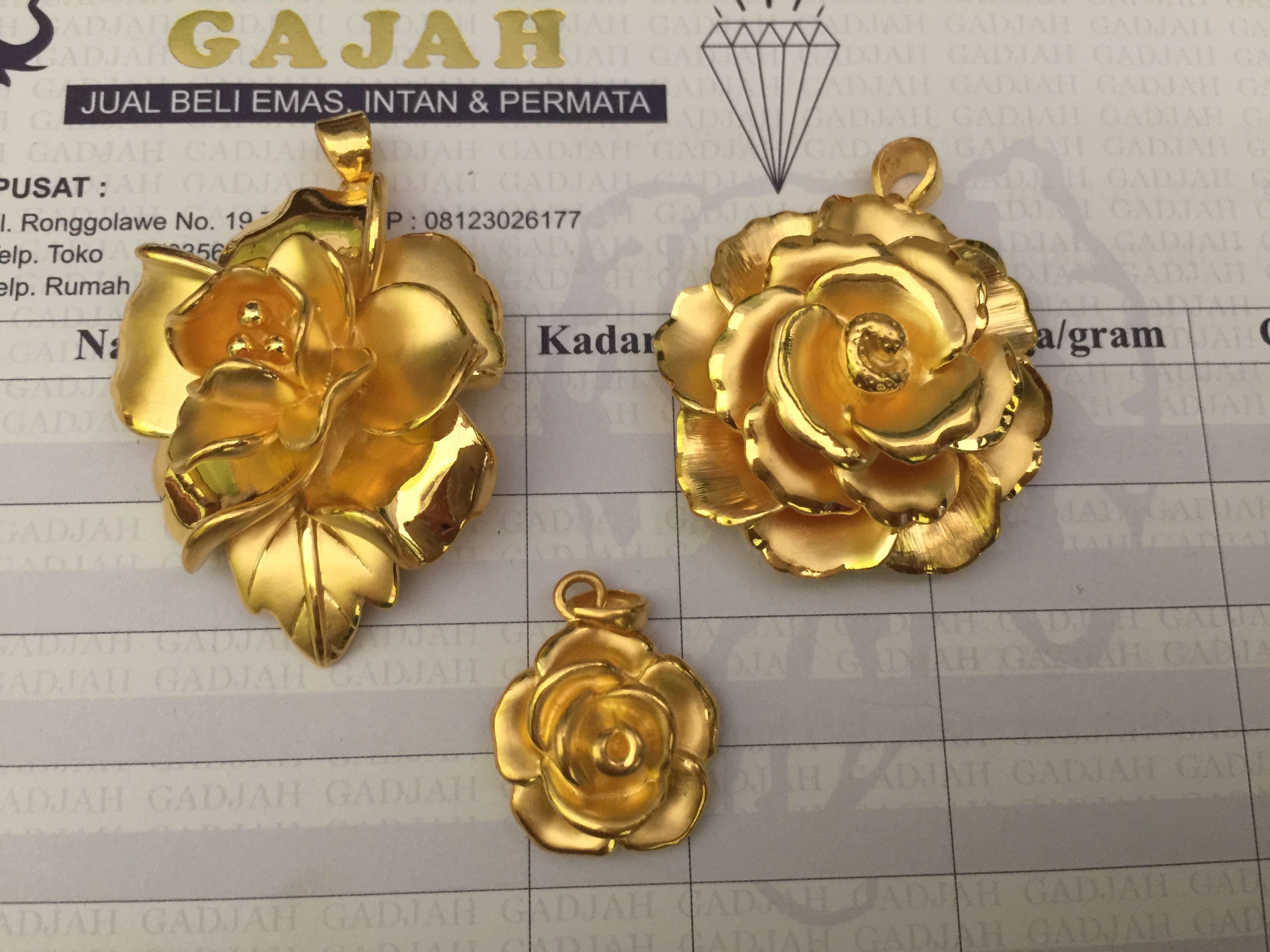 24k Gold Hong Kong Orted Flower