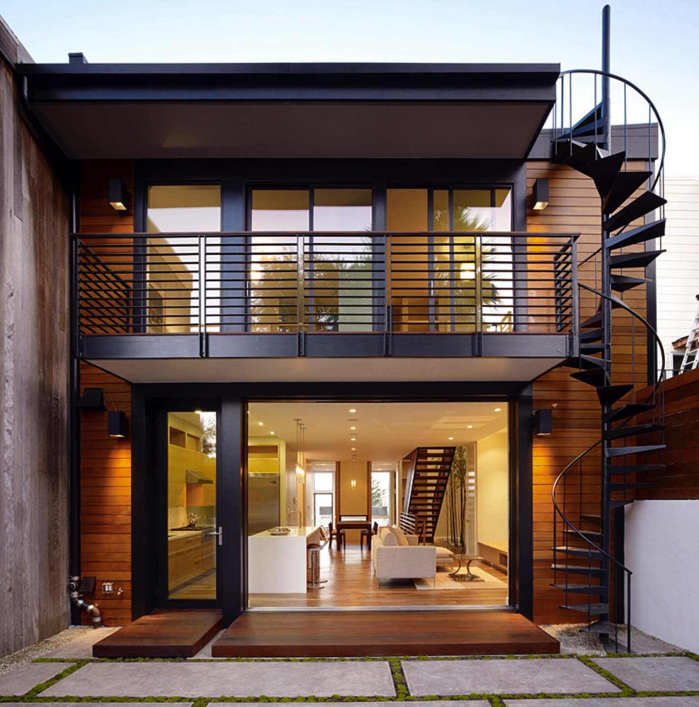 Photo of Visually striking open and airy modern home in San Francisco – best house decoration