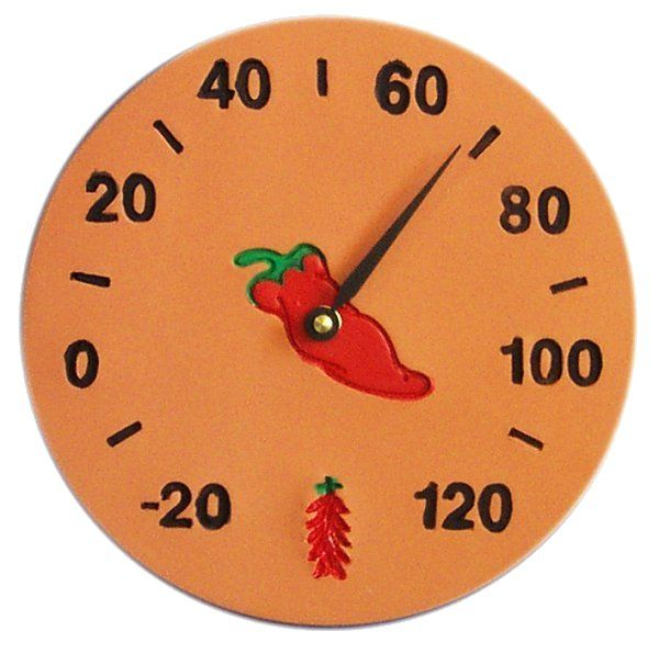 Southwest Chili Pepper Design Thermometer Available In 9