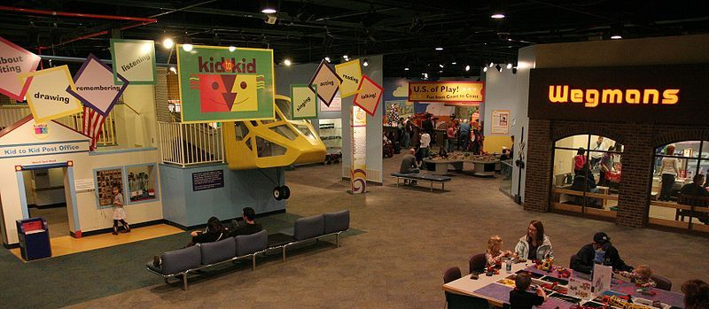 The National Museum of Play, formerly Strong National Museum of Play is one of the five Play Partners of The Strong (an interactive, collections-based educational institution) in Rochester, New York.