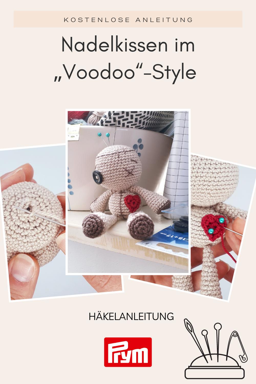 """Kostenlose Anleitung für Dein Nadelkissen im """"Voodoo"""