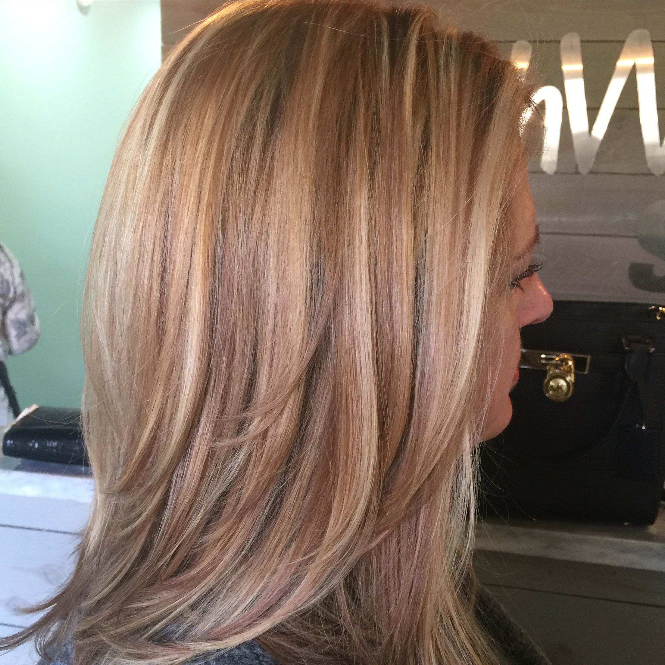 Three Color Highlight Beach Waves For Days Pinterest Color