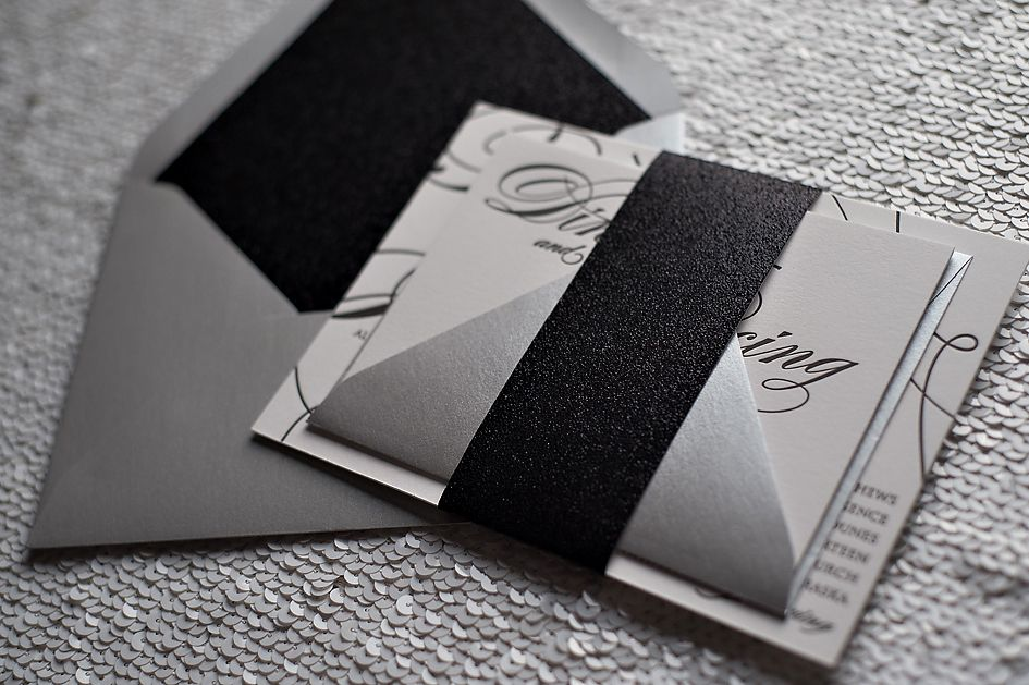 17 Best images about Wedding Colors Black White – Cheap Black and White Wedding Invitations