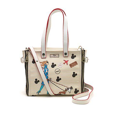 Barbara Rihl Disney Collection Minnie In Paris Handbag