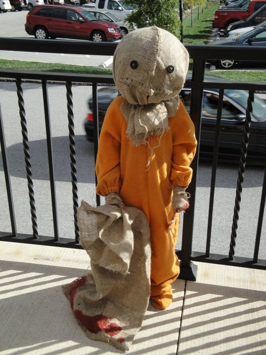 costume i made for my old daughter sam from the movie trick r treat it is our favorite movie sam trick r treat - Trick R Treat Halloween Costume
