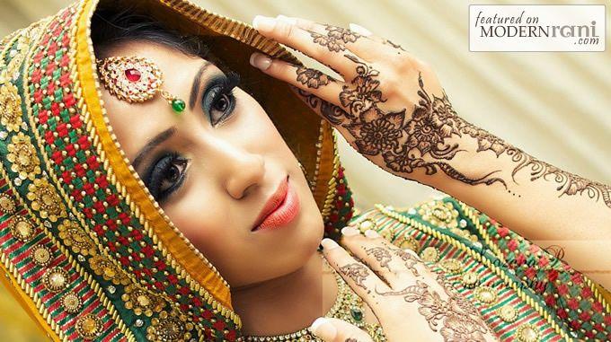 Mehndi Function Hair Style : Mehendi henna function south ssian saree more inspiration @ http