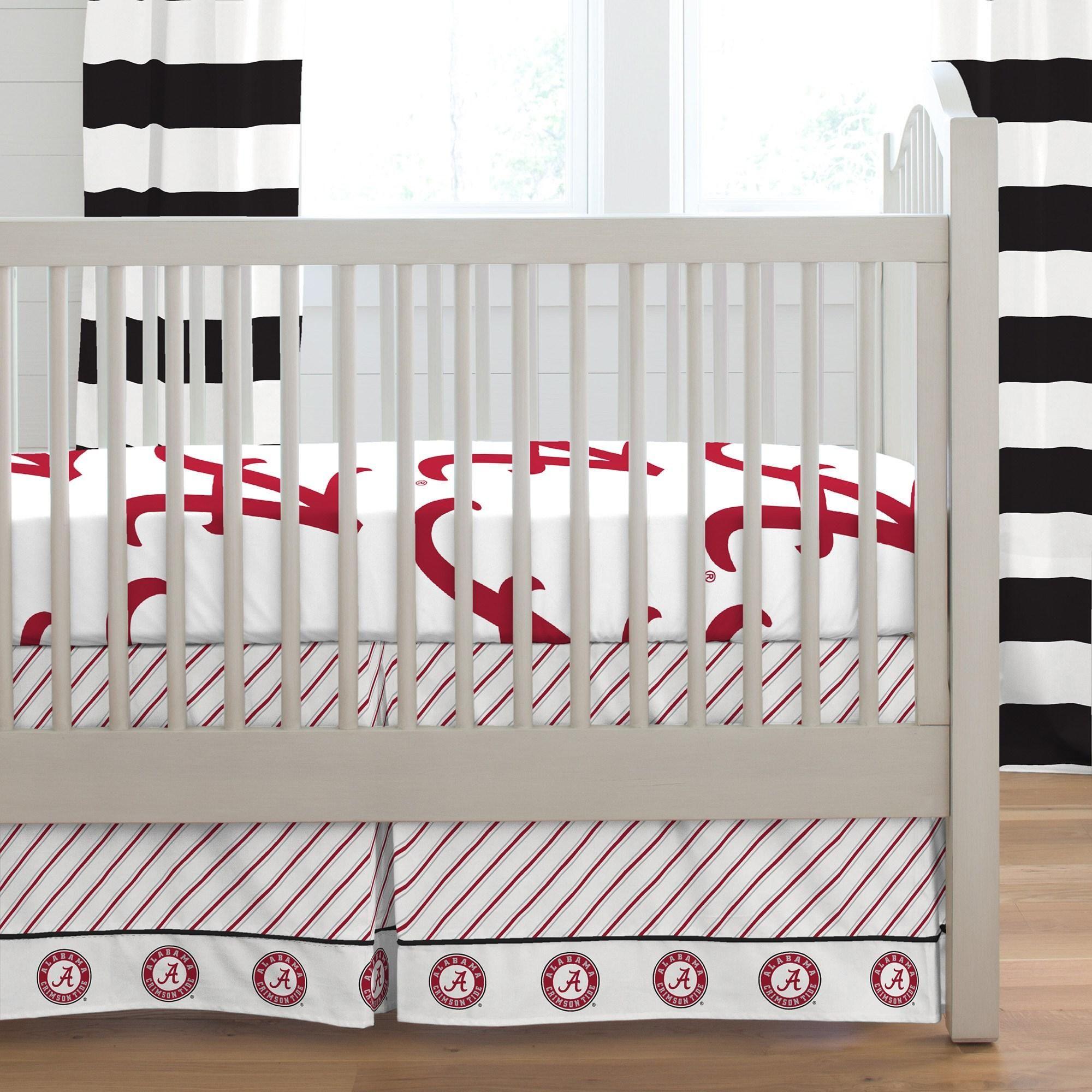 University Of Alabama 2 Piece Crib Bedding Set