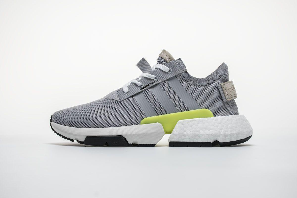 f4193aa3d17bb Adidas POD S3.1 Boost B37465 White Green Shoes