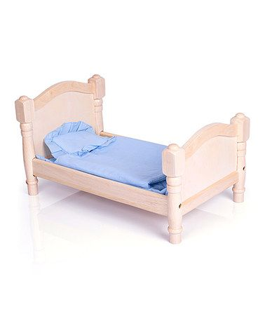 Love this Natural Doll Bed Set on #zulily! #zulilyfinds