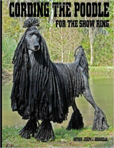 Cording The Poodle For The Show Ring Mr Joseph J Genarella 9781481897600 Amazon Com Books Poodle Poodle Hair Dogs
