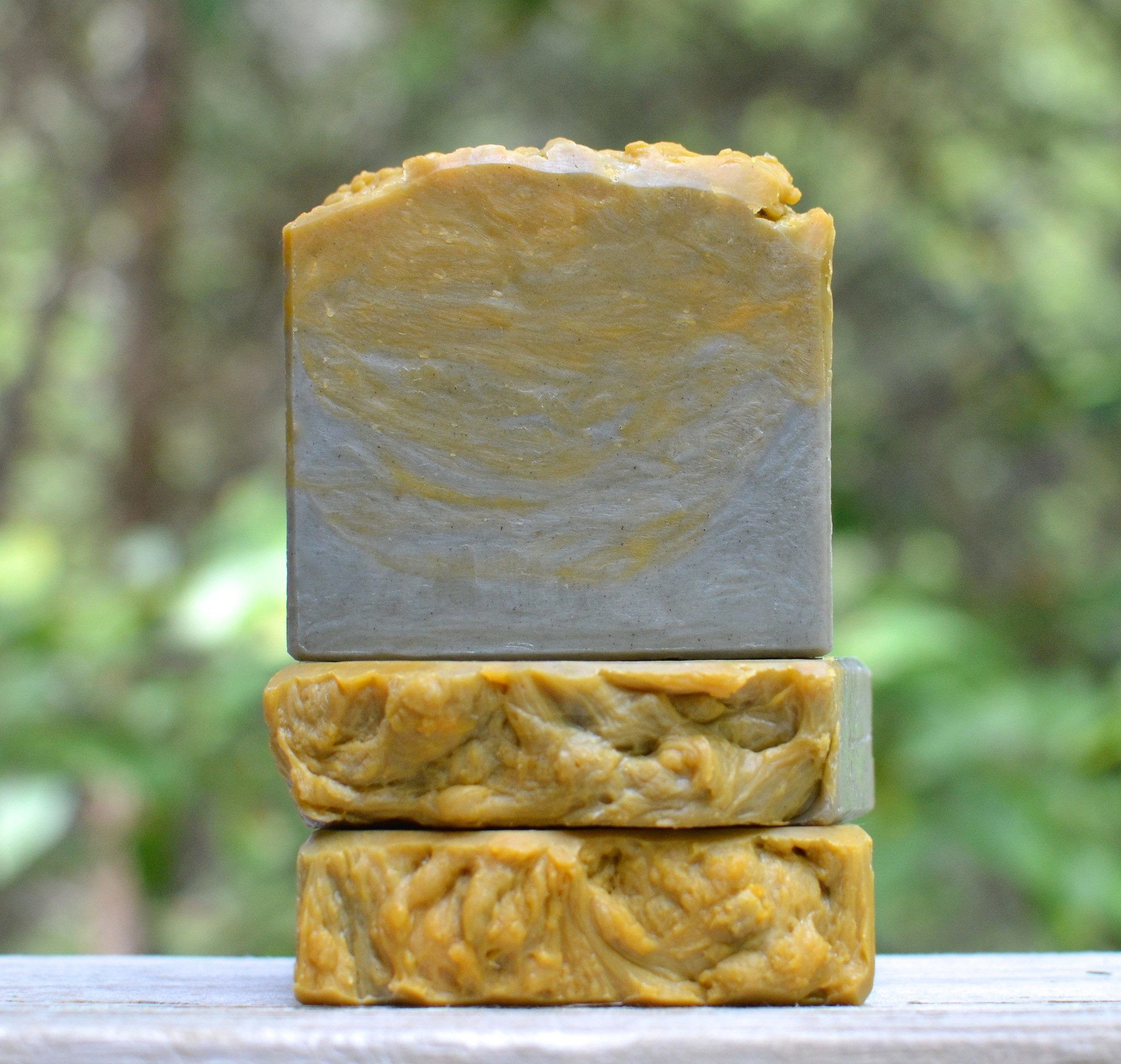 Ginger Patchouli Soap with Hemp Oil