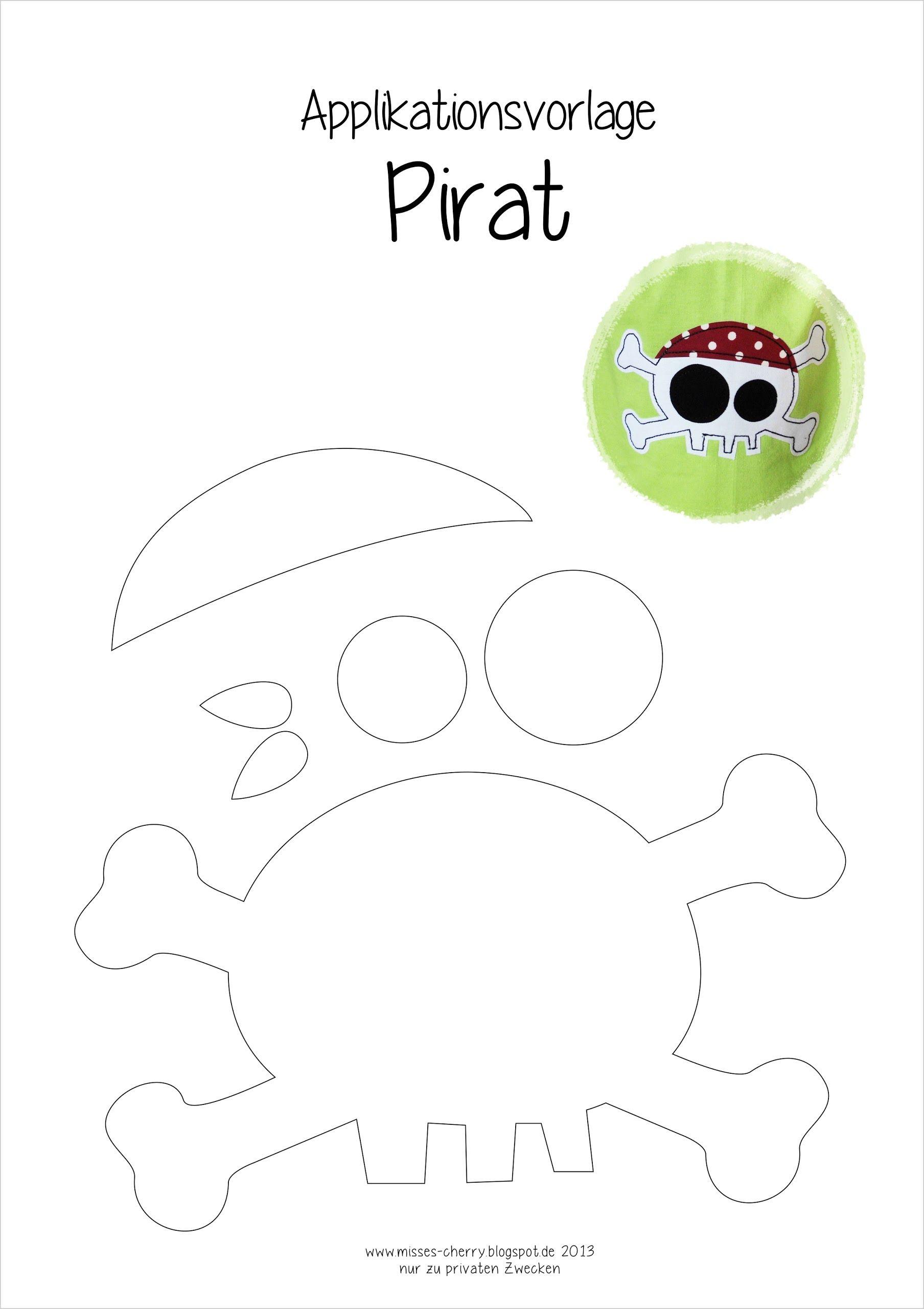 applikation pirat freebi handmade kids piraten n hen und n hen f r kinder. Black Bedroom Furniture Sets. Home Design Ideas