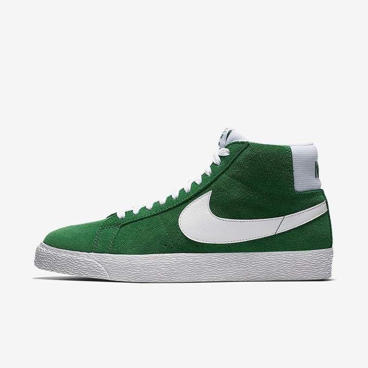Nike SB Zoom Blazer Mid Men's Skateboarding Shoe | Green ...