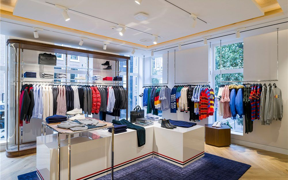 Small Boutique Clothing Store Interior Design Layout Boutique