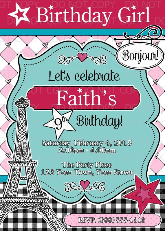american girl birthday party ideas | american girl birthday, girl, Birthday invitations