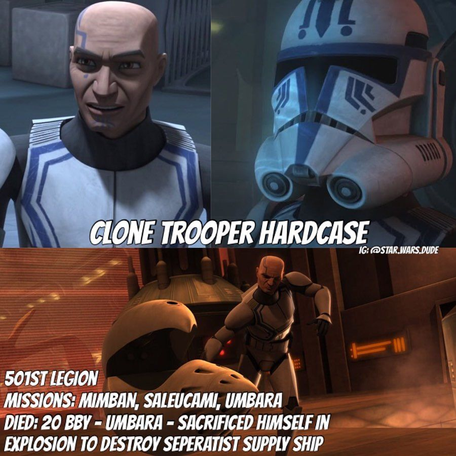 The Heroes Of The 501st I Love All Of These 501st Clones And Theyre Some Of My All Time Favorite St Star Wars Memes Star Wars Characters Star Wars Clone Wars