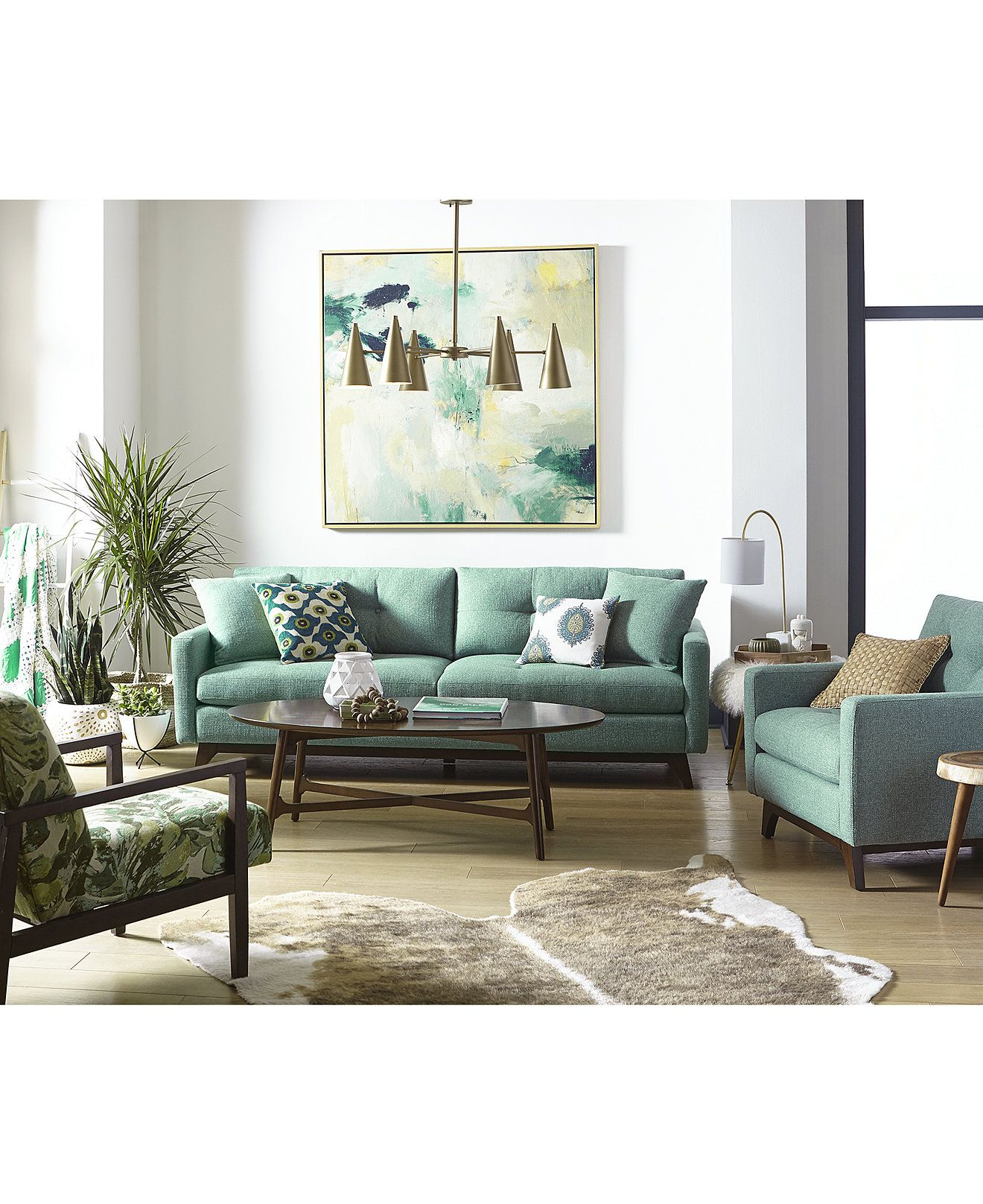 Only Muebles Nari Tufted Back Sofa Collection Created For Macy S Living