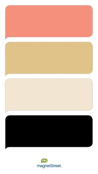 C Gold Champagne And Black Free Color Swatches Ordered At Magnetstreet