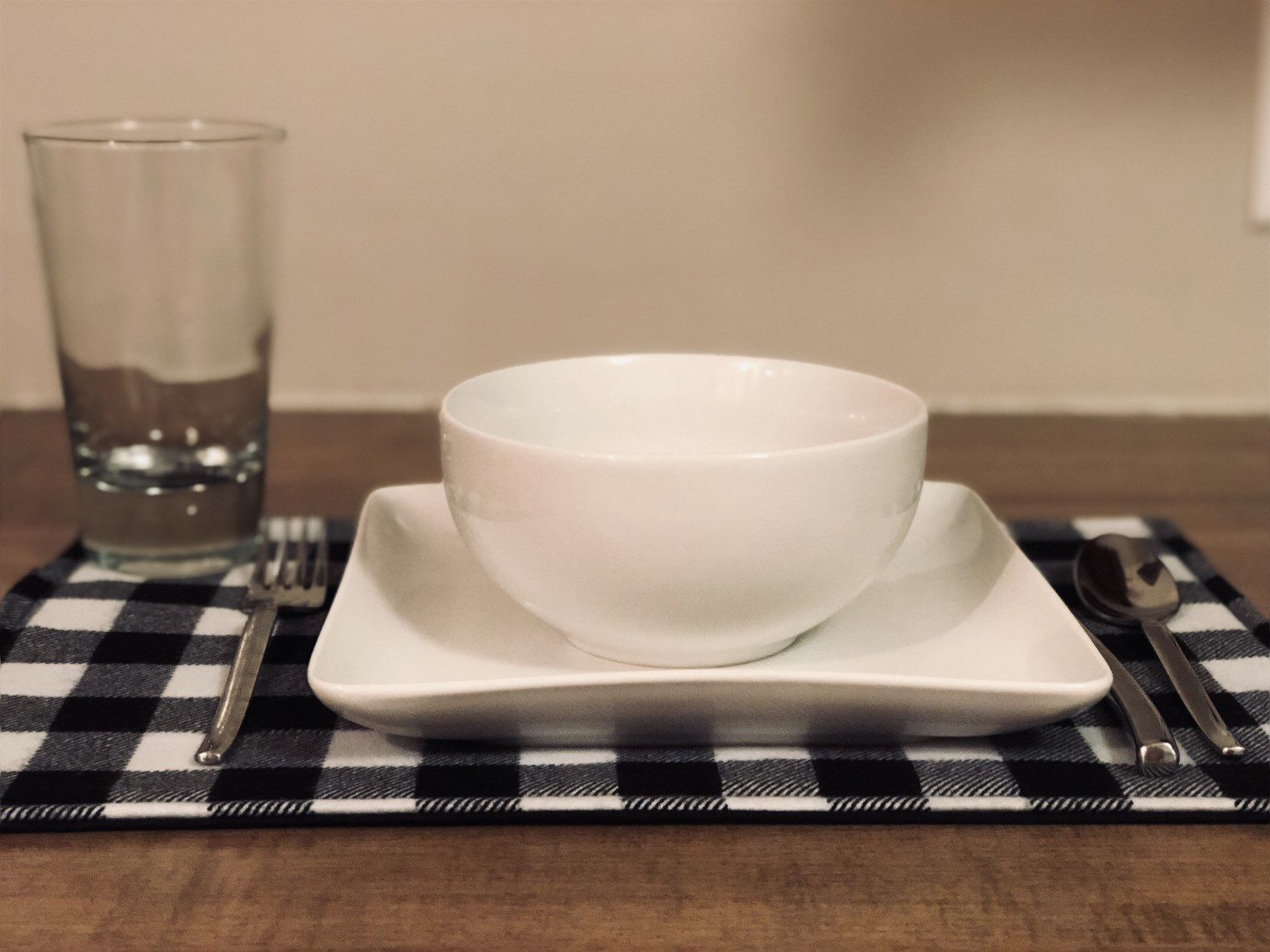 Excited To Share This Item From My Etsy Shop Black And White Buffalo Plaid Placemats White Placemats Black White Buffalo Plaid