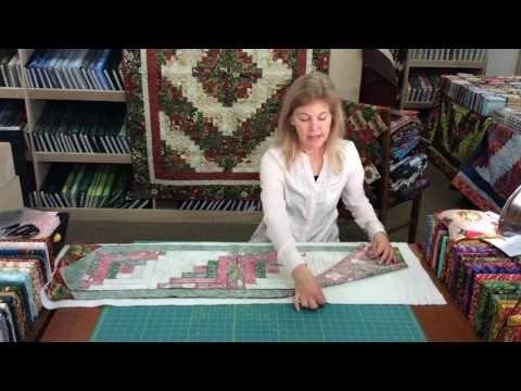 JORDAN FABRICS Jagged Edge Table Runner Tutorial - How To Sew A ... : youtube quilting tutorial - Adamdwight.com