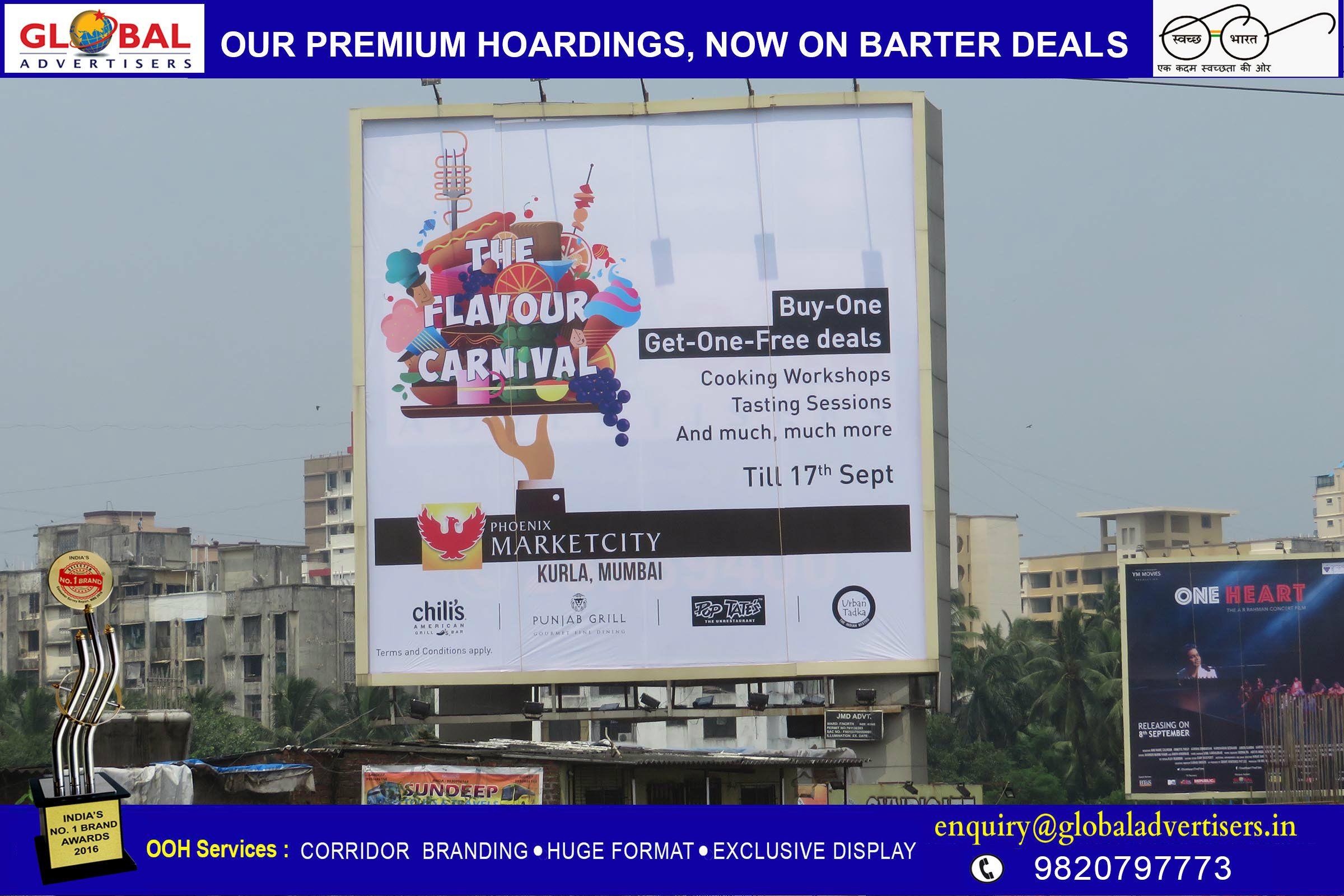 Hoarding Railway Bus Shelter Advertising Mumbai Get One