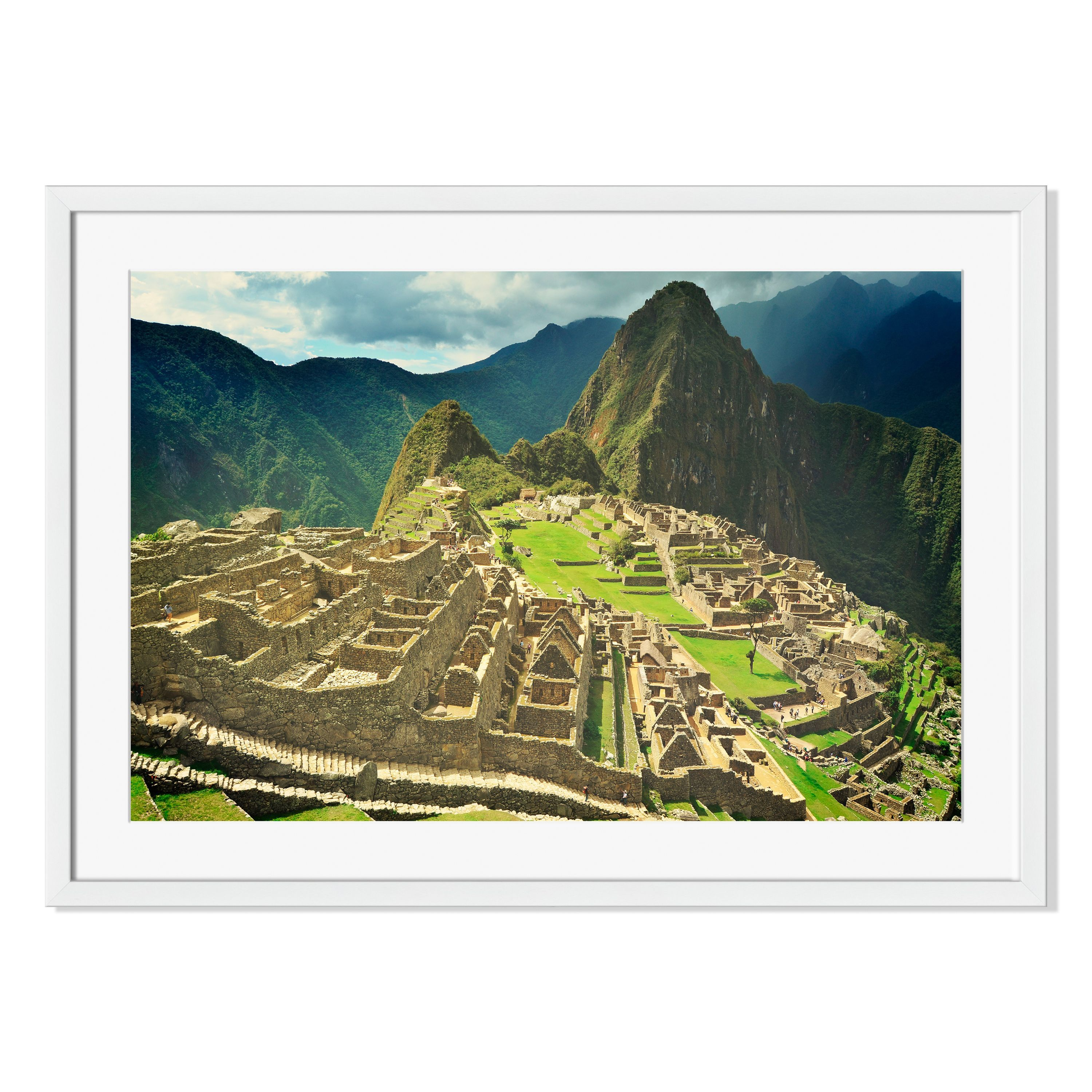 Gallery Direct Machu Picchu Lost City of the Incas Print on Paper Framed Print