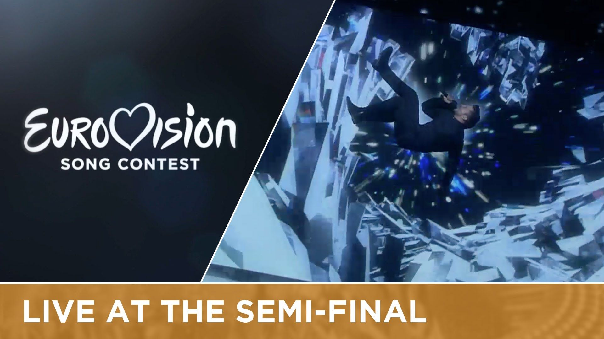 Sergey Lazarev represents Russia at the 2016 Eurovision
