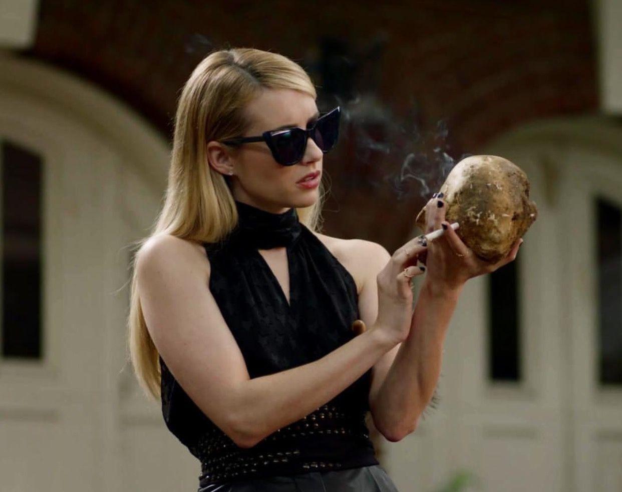Emma Roberts As Madison Montgomery 2018 American Horror Story American Horror Story Coven Emma Roberts