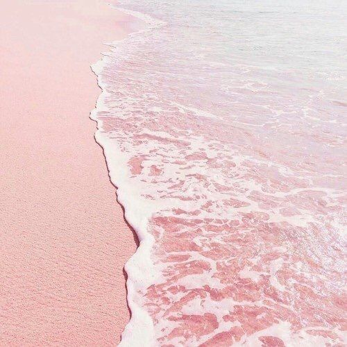 aesthetic, sea, and beach image | Pretty Things ️ | Pink ...