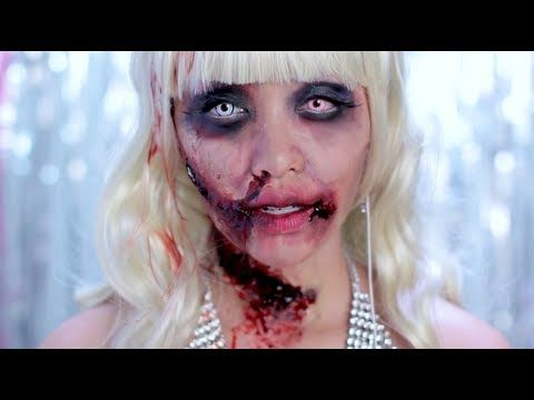 Zombie Barbie Look | Barbie, Blonde wig and Make up