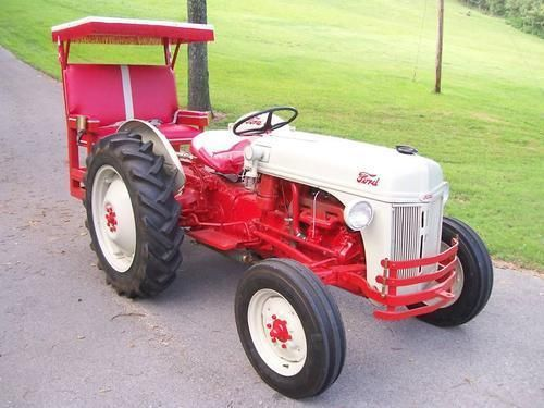 52 Ford 8n Tractor W Back Seat It Looks Like I Have An Idea For A