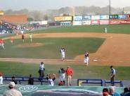 This video shows the moments before the full force of the storm hit the Diamond June 25, 2012. Incredible effort by Flying Squirrels staff to get everyone to safety!