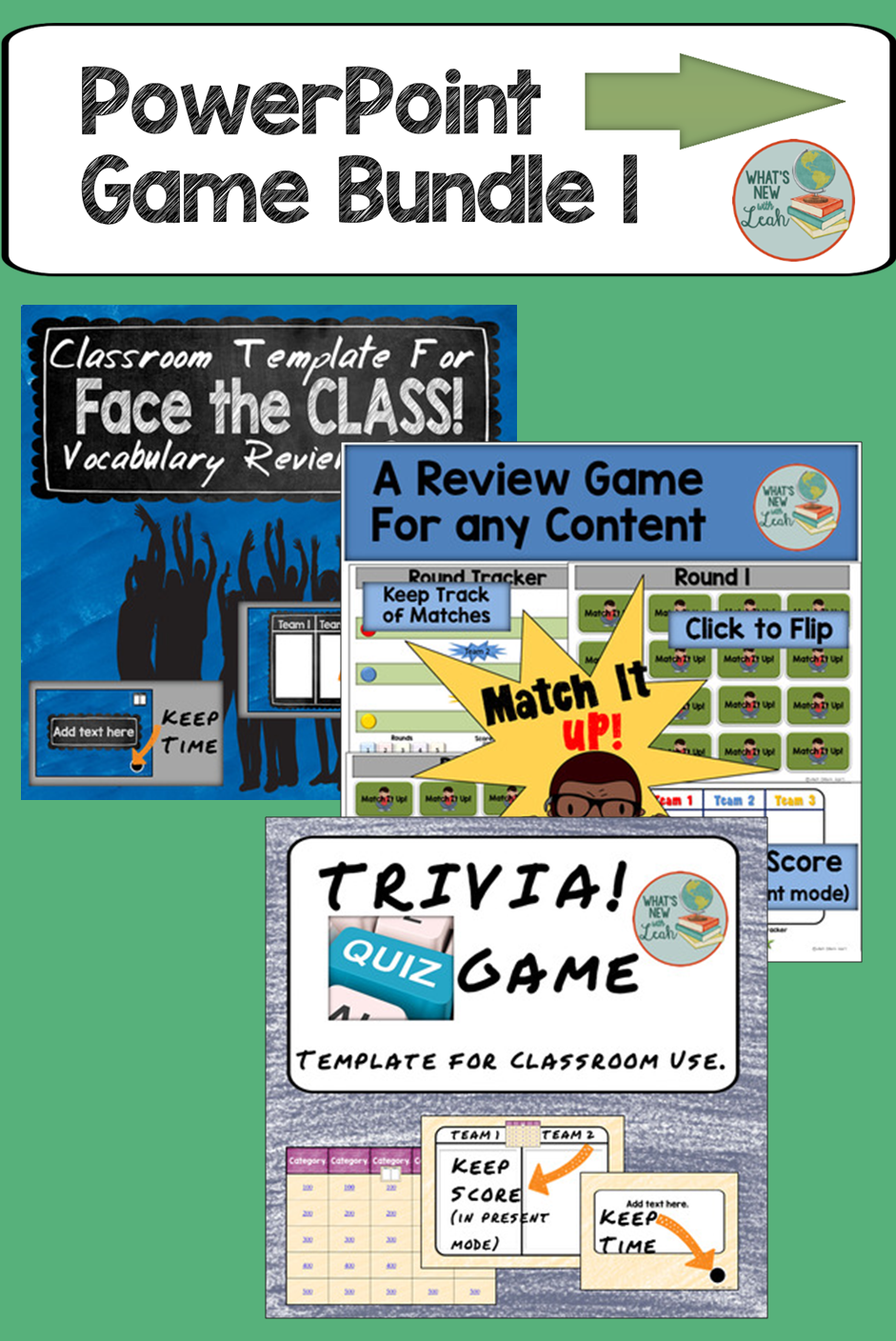 Powerpoint Games Bundle   Social Studies Classroom Social