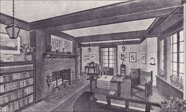 1910 Living Room Craftsman Style Craftsman Style Homes