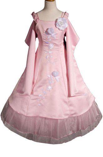 7017c328e AMJ Dresses Inc Girls Pink Flower Girl Pageant « StoreBreak.com ...