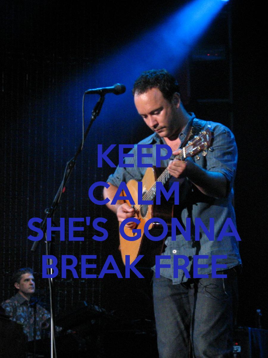 DMB~ Break Free
