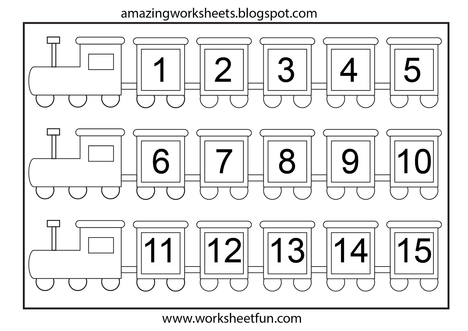 Number Chart And Math