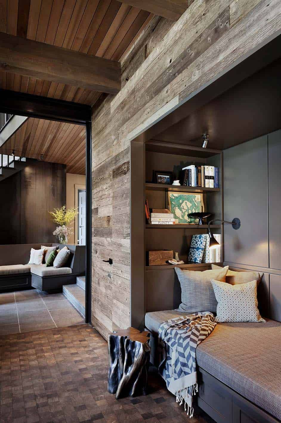 Photo of Modern rustic retreat designed to feel like a summer camp on Orcas Island