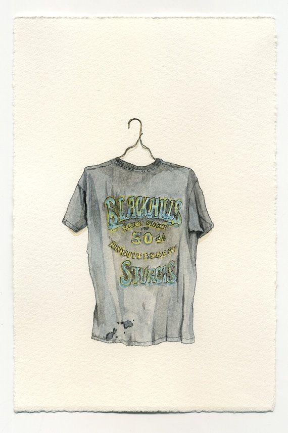 Watercolor T Shirts Ilustracion De Moda