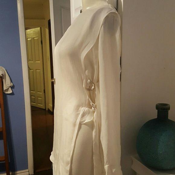 100% silk NEW Zara studio top Really pretty Zara Tops Blouses